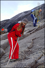 Climing Mt. Kinabalu - yes, it's challenging