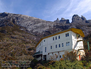 Mt. Kinabalu's Laban Rata Rest House at 3,333m