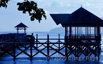 Bunga Raya Resort Hotel Accommodation Sabah