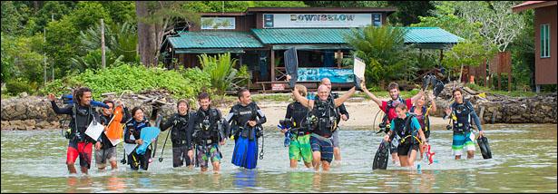 PADI 5 STAR IDC Scuba Dive Centre Sabah Borneo