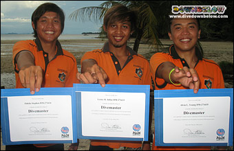 Join the ranks of freshly qualified divemasters from Downbelow