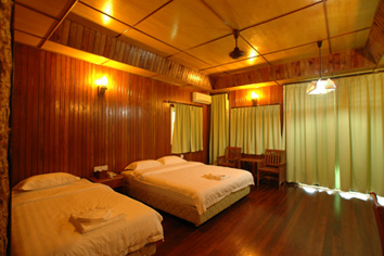 Kinabatangan Boutique Chalet Accommodation Double Room