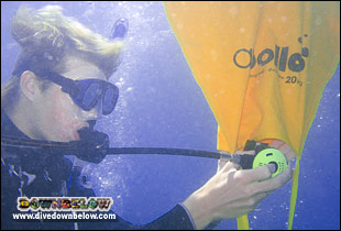 Learn complex skills as part of becoming a Master Scuba Diver