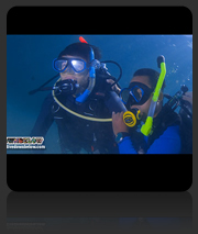 PADI Rescue Diver with Downbelow