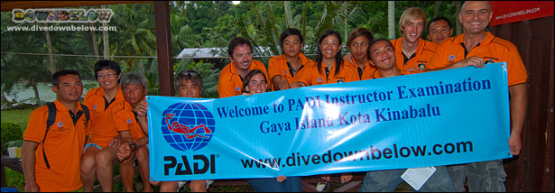 Downbelow has a high Scuba Diving Instructor success rate