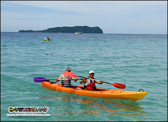 Sea Kayaking is a great way to explore the islands