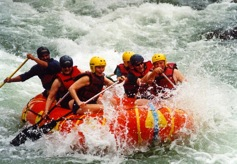 Whitewater Rafting on the Raging Padas River Rapids