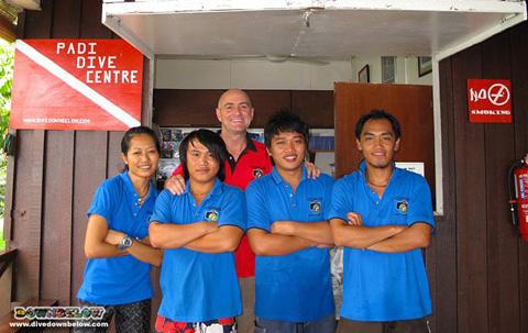 Locals Join Borneo SCUBA Diving Internship