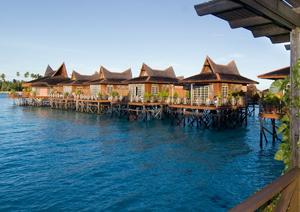 Sipadan Mabul Smart Resort Water Bungalow Images
