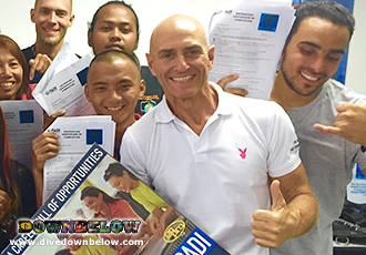 Platinum PADI Course Director Richard Swann