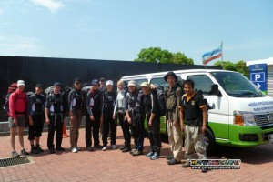 The Danish Adventure group before setting for their 5 Day Jungle Trekking adventure