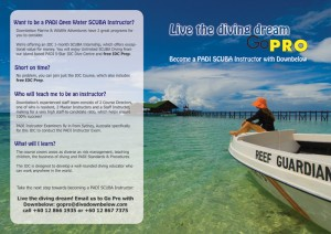 PADI IDC Instructor Development Course in Borneo, Malaysia