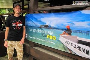 Paul joins our PADI IDC Internship in Kota Kinabalu, Sabah