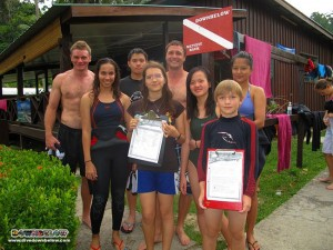 Kinabalu International School Dives with Downbelow