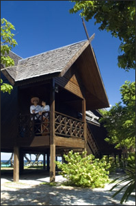 Mataking Island Resort Chalet Accommodation