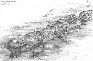 The Rice Bowl Wreck in Usukan Bay - Source unknown