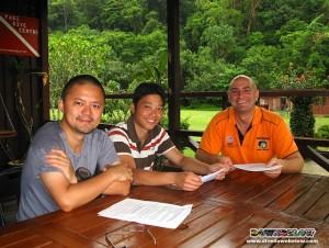 2 New Divemaster Interns in Kota Kinabalu, Sabah