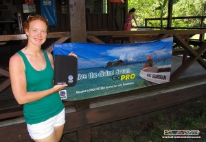 Samantha, our newest Professional Divemaster Intern