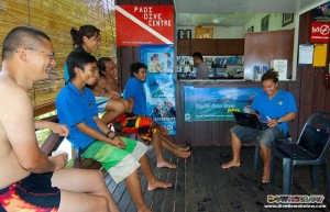 PADI Aware Coral Reef Conservation Speciality with Downbelow in Sabah, Borneo