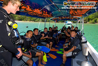 As a PADI IDC Staff Instructor you are involved in conducting, organizing and assisting the IDC and Instructor Specialty courses. ELCAS - Borneo, Sabah
