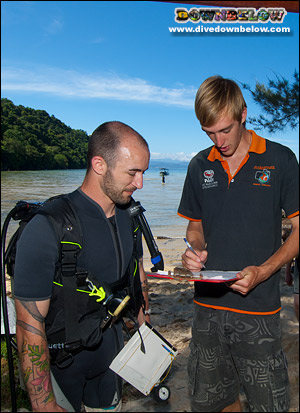 Become a Scuba Instructor and teach the art of diving - ELCAS courses in Sabah, Borneo, Malaysia