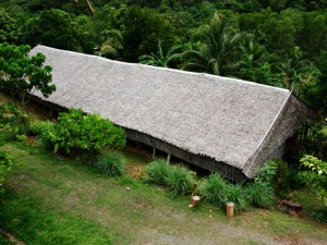 The Rungus Longhouse in near Kudat