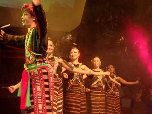 Traditional Dancing at the Rungus Longhouse in Kudat