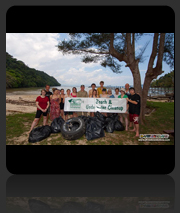 April Borneo Adventurers Cleans Up