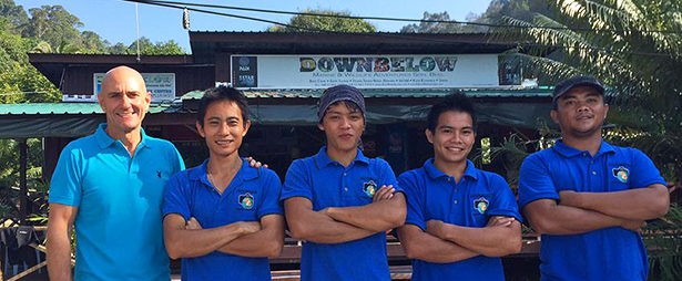 Downbelow Divemaster trainees