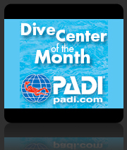 PADI Dive Centre of the Month - March 2012