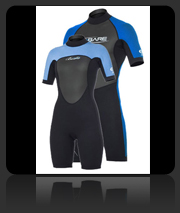 Bare Ignite Short - 2mm Wet Suit for Warm Water Scuba Diving
