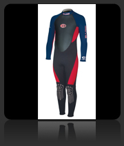 Bare Jr Velocity Full Wet Suit for Kids