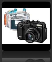 Canon PowerShot G12 with Underwater Housing