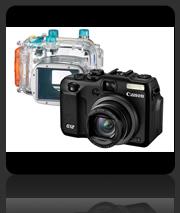 Canon PowerShot G12 with Underwater Housing