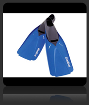 UniDive Full Foot Scuba Fins