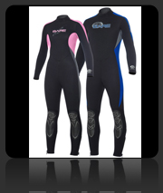 Bare Velocity 2/3mm Wet Suit - Men and Women