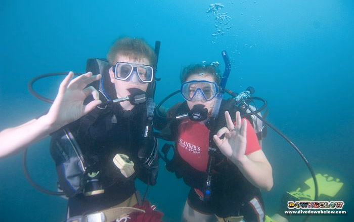 Join Downbelow this September and become a professional open water scuba instructor