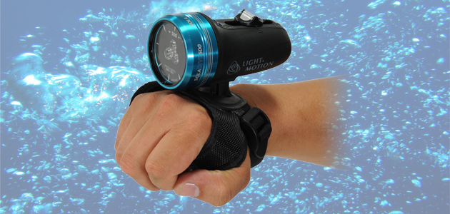 Handsfree Sola Dive 500 Underwater Dive Light