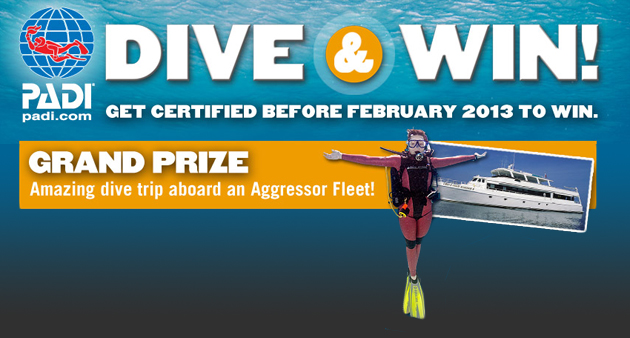 PADI Dive to Win Competition
