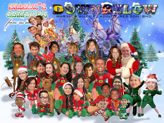 A Very Merry Christmas from Downbelow to you!