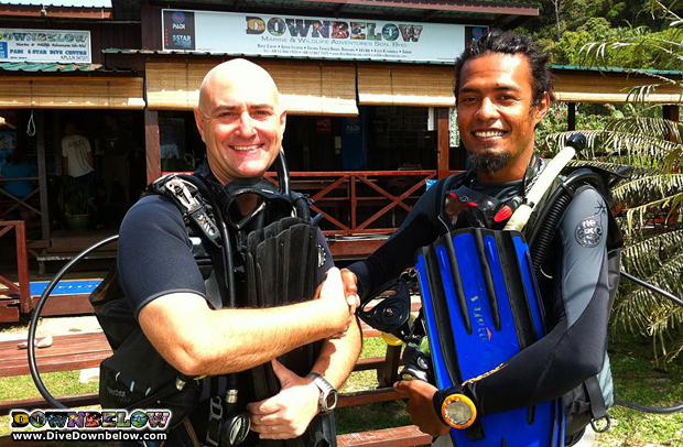 Captain Mel from Downbelow now fully certified PADI Divemaster