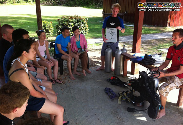 how to prepare for PADI IDC