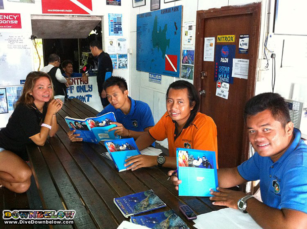 boat captain completes padi advanced open water course
