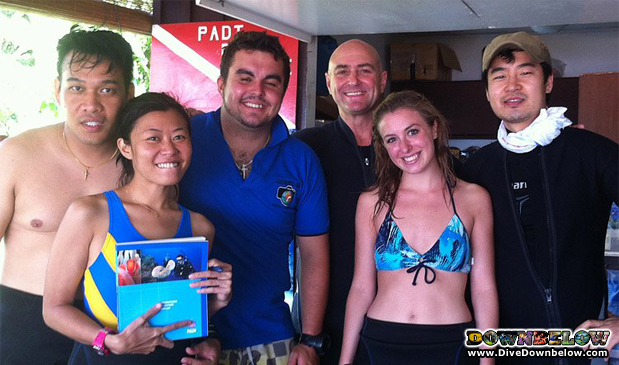 PADI Advanced Open Water Diving Course in Kota Kinabalu