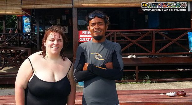 Scuba Refresher Course in KK, Borneo