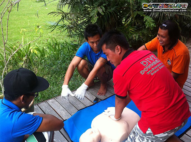 Emergency First Response at Downbelow, Borneo