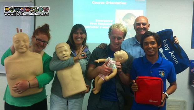 padi emergency first responder instructor course kk borneo