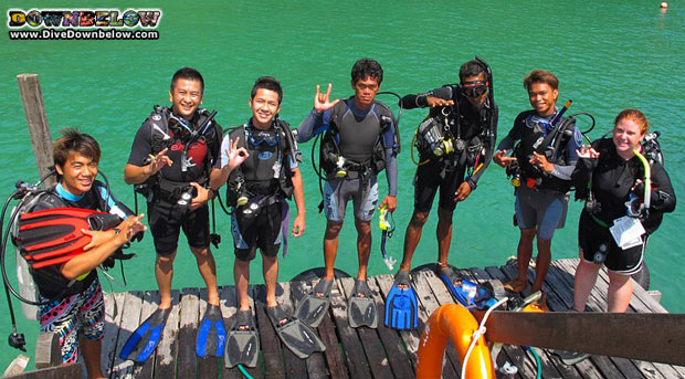 staff-completes-open-water-course-gaya-island-borneo