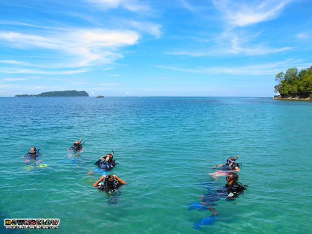 learn padi IDC in paradise