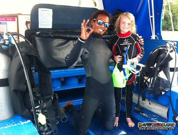 junior open water borneo asia